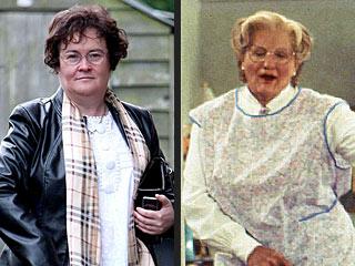 POLL: Should Robin Williams Play Susan Boyle on Film?