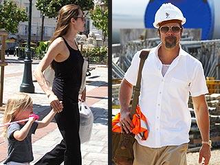 Brad Pitt, Angelina Jolie's Pre-Labor Day Getaways