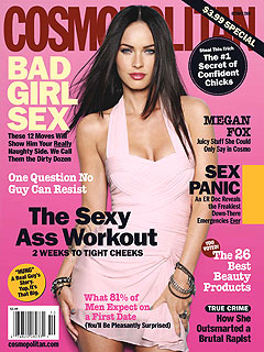 Megan Fox Counts Up the Guys Who've Seen Her Naked