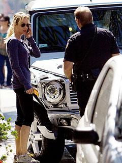 Renée Zellweger Fine After Car Accident