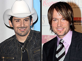 Oops! CMA Leaves Out Nod for Brad Paisley & Keith Urban