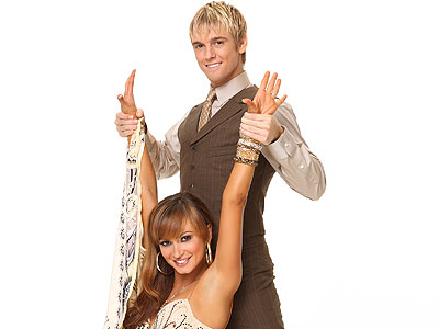 Karina Smirnoff and Aaron Carter Brush Off Romance Rumors