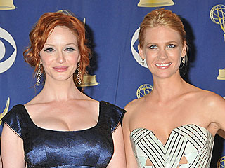 January Jones Hopes Christina Hendricks Doesn't Lose Her Curves