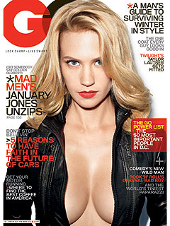 January Jones Became Famous Despite Ashton Kutcher