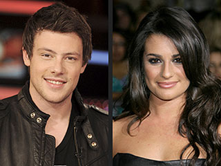 Glee Cory Monteith Squashes Rumors He's Dating Lea Michele