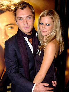 Jude Law and Sienna Miller's Romantic Night Out