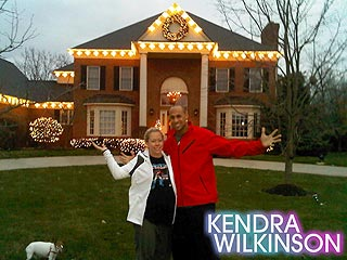 Kendra Wilkinson Unveils Her Holiday-Ready House