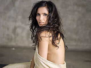 Padma Lakshmi Doesn't Mind Baring the Baby Weight