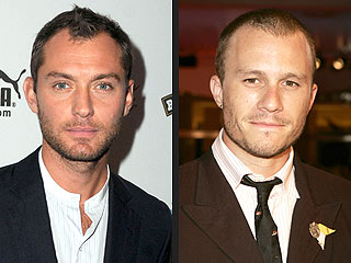 Jude Law to Judge Heath Ledger Scholarship