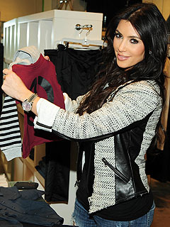 Kim Kardashian Spoiling New Nephew with Clothes