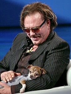 Sad News: Mickey Rourke's Beloved Dog Loki Dies! Leave Your Condolences For Him Here