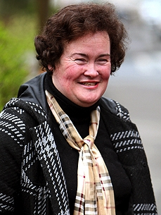 Hospitalized Susan Boyle Misses Her Cat, Pebbles