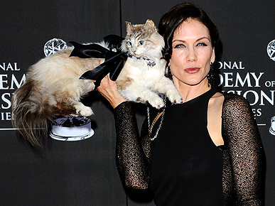 Y&R's Stacy Haiduk Explains Taking Stuffed Cat to Daytime Emmys