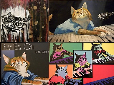 Kitten Rescue Auctions Purr-ty Art for a Cause