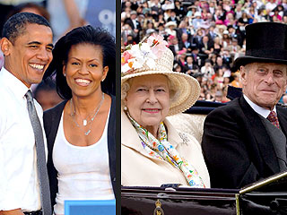 Obamas Prepare to Meet Queen Elizabeth