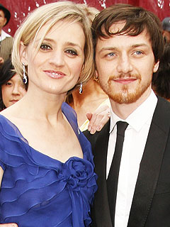 James McAvoy, Wife Exp...