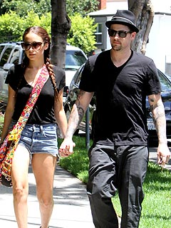 Couples Watch: Nicole & Joel Head Out for Rock N' Roll Beverages