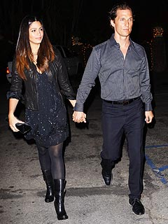 Couples Watch: Matthew McConaughey & Camila Alves's Country Music Date Night