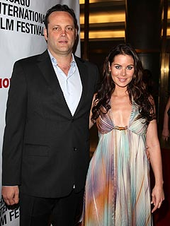 Vince Vaughn with cool, beautiful, Wife Kyla Weber