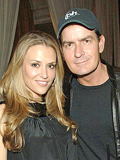 Charlie Sheen's Distraught Wife Leaves L.A. with Their Twins