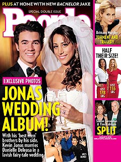 FIRST LOOK: Kevin Jonas's Wedding Photo!