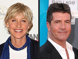 Ellen DeGeneres: Simon Cowell's 'Mean' to Contestants but We'll GetAlong