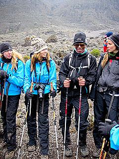 Blizzard Hits Jessica Biel, Emile Hirsch on Mt. Kilimanjaro