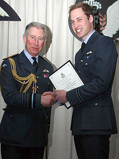 Prince William Gets His Wings