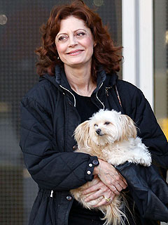 Susan Sarandon Steps Out on the Town