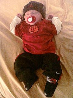 PHOTO: See Kendra Wilkinson's Sleeping Son