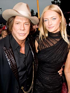 Mickey Rourke Calls His Girlfriend a 'Gift From Heaven'