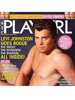 Finally! Levi Johnston's Playgirl Cover Revealed