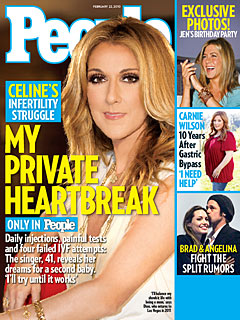 Celine Dion's Struggle for a Second Baby