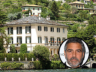 George Clooney Staying Put in Italian Villa