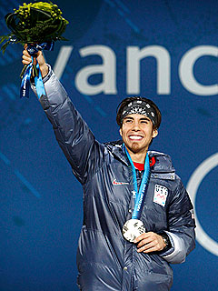 Apolo Ohno Sheds 16 Lbs. But Wins Eight Medals