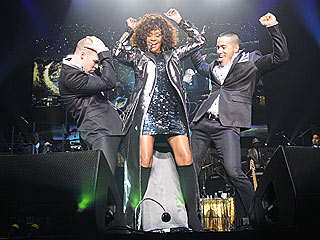 PHOTO: Whitney Houston Dances in Face of Illness Report