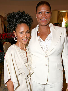 Queen Latifah Comes to Jada Pinkett Smith's Rescue