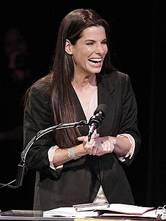 Sandra Bullock Picks Up Her 2 Razzies in Person