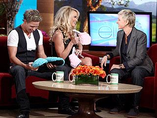 Ellen DeGeneres's Gift to Pamela Anderson?Pasties!