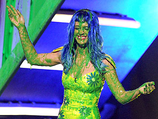 Katy Perry Gets Slimed at Kids' Choice Awards