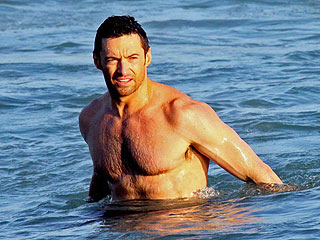 Hugh Jackman's Ideal Date Night: Skinny-Dipping