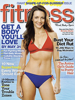 Kristin Davis Prefers Sweets Over Skinny Jeans