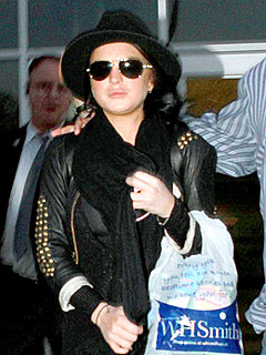 Lindsay Lohan Takes Shopping Break During Rehab