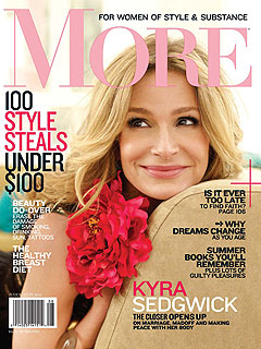Kyra Sedgwick Avoids Scales after Struggle with Weight Issues