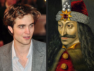Robert Pattinson Is (Gulp) Distantly Related to Dracula