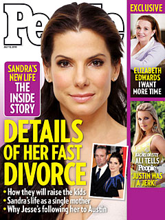 Inside Sandra Bullock and Jesse James&#39;s Divorce