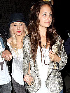 Christina Aguilera and Nicole Richie's Moms' Night Out