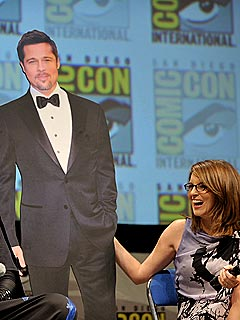 Meet Brad Pitt's Most Crazed Fan: Tina Fey