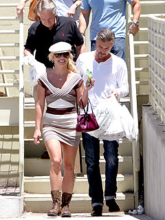 Britney Spears's Dinner Date with Jason Trawick – and His Parents!