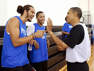 President Obama Recruits Dream Team for B-Day Basketball Game
